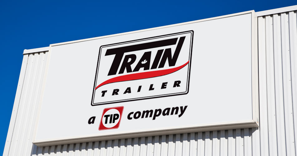Train Trailer - Montreal transport trailer rental company